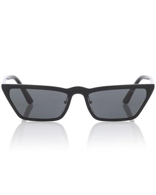 471e03c0ee6b Prada - Black Ultravox Cat-eye Sunglasses - Lyst ...