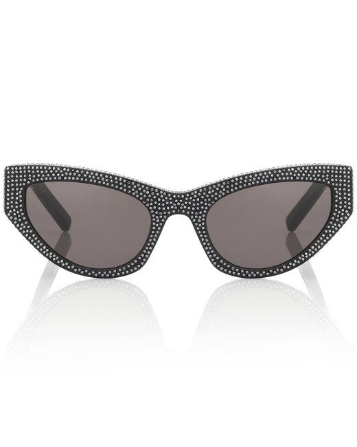 Saint Laurent - Black New Wave 215 Grace Sunglasses - Lyst