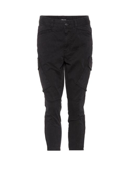 J Brand - Black Hose mit aufgesetzten Taschen - Lyst