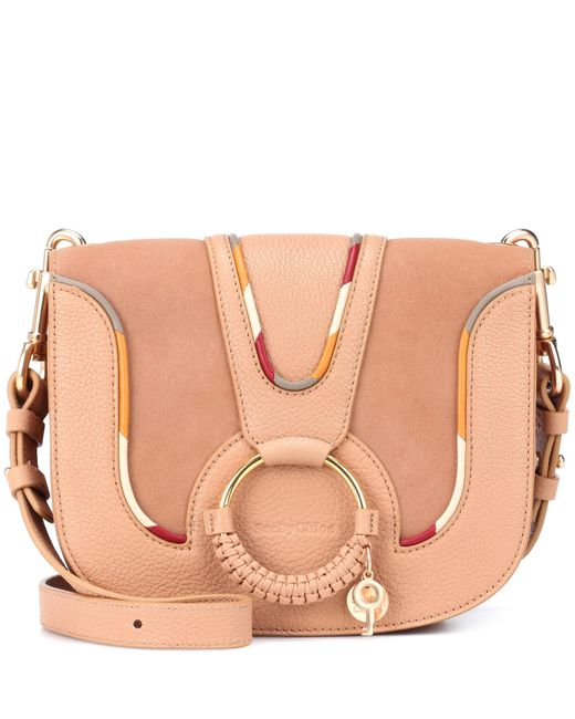 See By Chloé - Pink Hana Medium Leather Shoulder Bag - Lyst