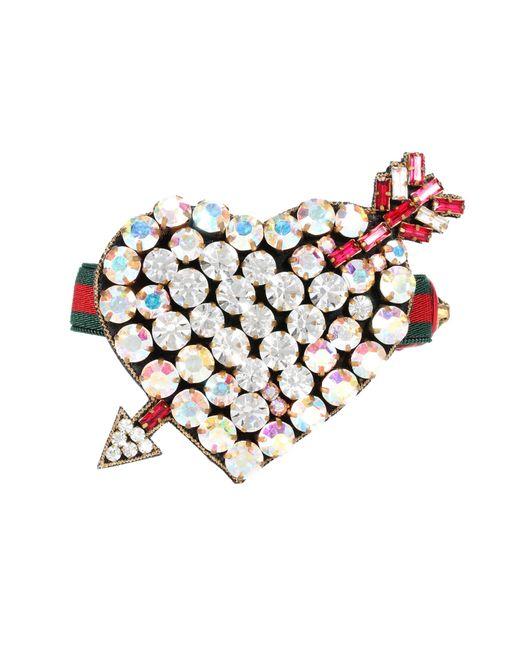 Gucci   Multicolor Crystal-embellished Bracelet   Lyst