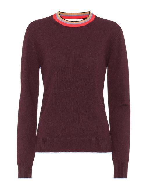 Marni | Purple Cashmere-blend Sweater | Lyst