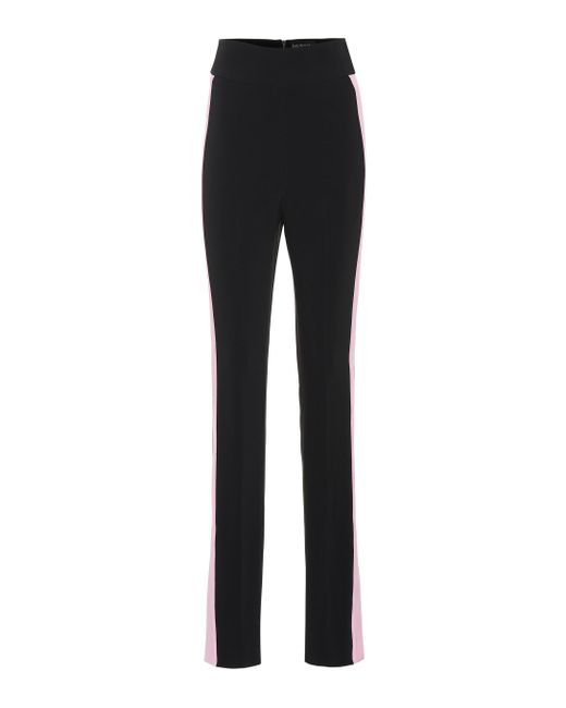 David Koma - Black High-rise Skinny Cady Pants - Lyst