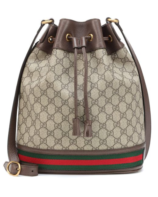af6d3acedd6a Gucci - Multicolor Ophidia GG Bucket Bag - Lyst ...