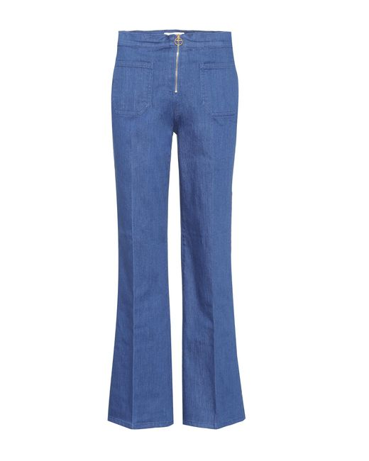 Tory Burch - Blue Luisa Flared Jeans - Lyst