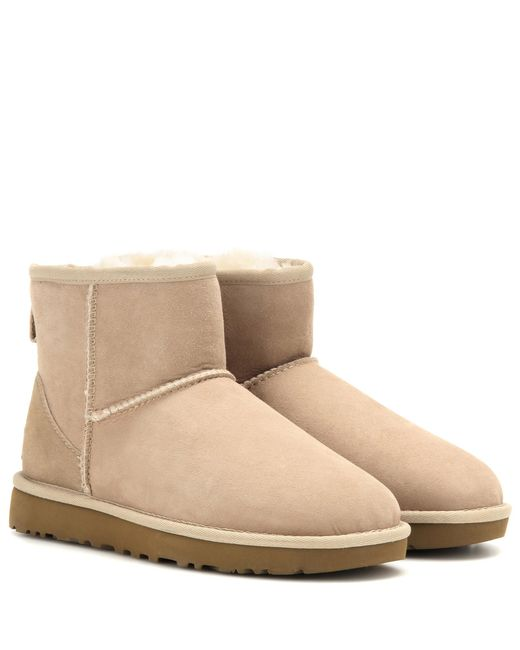 Ugg | Natural Classic Mini Boots | Lyst
