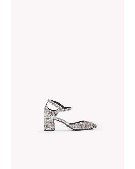 Henry Kole | Metallic Mia Silver Glitter | Lyst