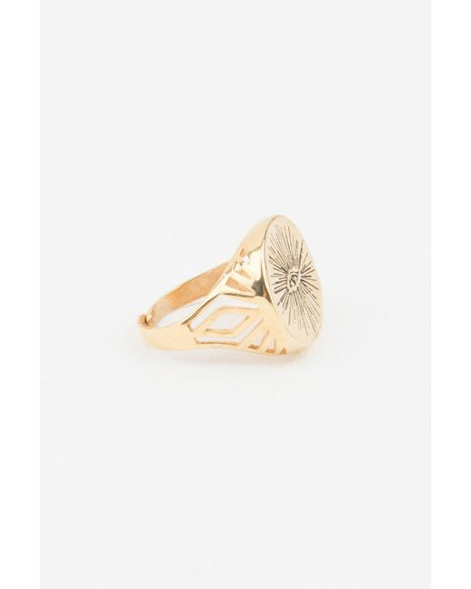 Alona | Metallic Eyenamour Ring | Lyst