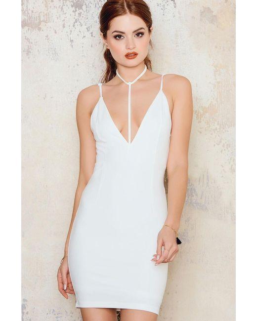 Toby Heart Ginger   White T-bar Mini Dress   Lyst