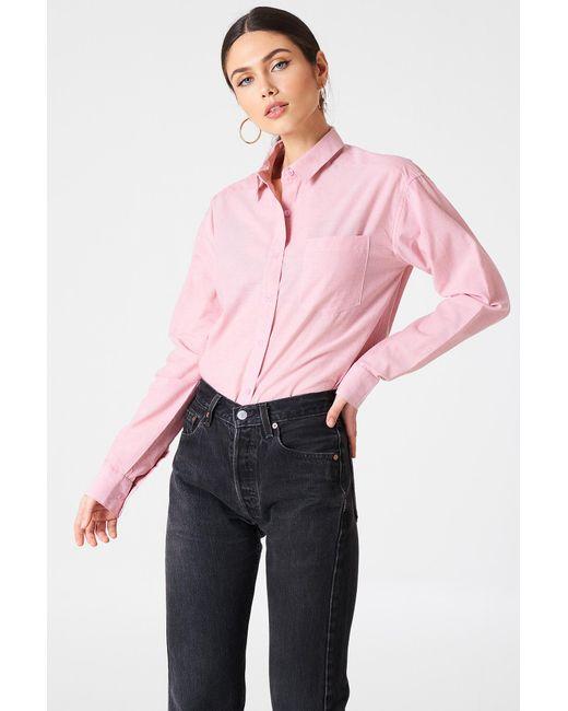 Rut&Circle | Pink Selma Chambray Shirt | Lyst