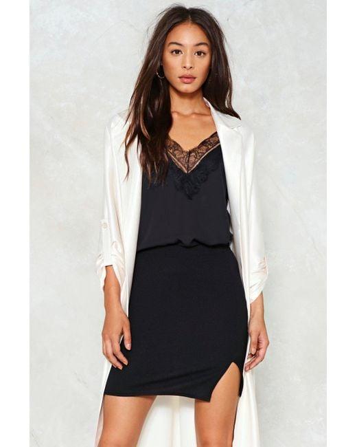 Nasty Gal | Black Breakthrough Mini Skirt Breakthrough Mini Skirt | Lyst