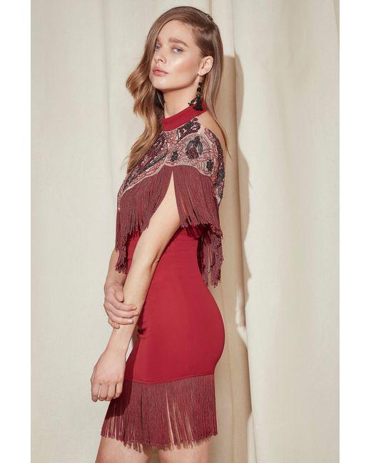 Lyst Nasty Gal Studio Alexandra Fringe Dress Studio