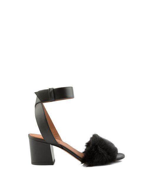Givenchy - Black Sandal 6 Paris - Lyst