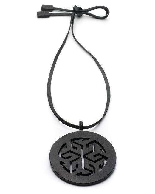 Natori   Brown Josie Horn Round Necklace   Lyst
