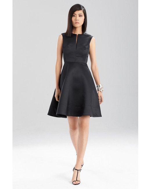 Natori - Black Duchess Satin Dress - Lyst