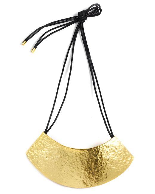 Natori | Metallic Gold Geo Necklace | Lyst