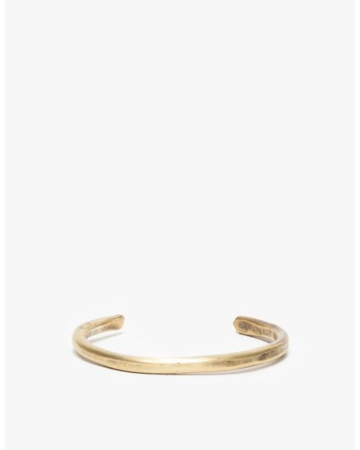 Cause and Effect | Metallic Thin Brass Bar Cuff for Men | Lyst