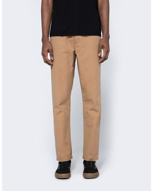 Obey | Black Travel Slub Twill Pant for Men | Lyst