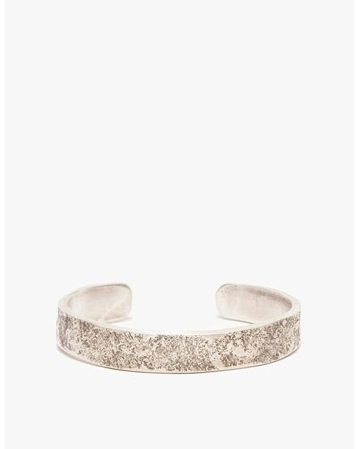 Cause and Effect | Metallic Silver Rock Texture Cuff for Men | Lyst