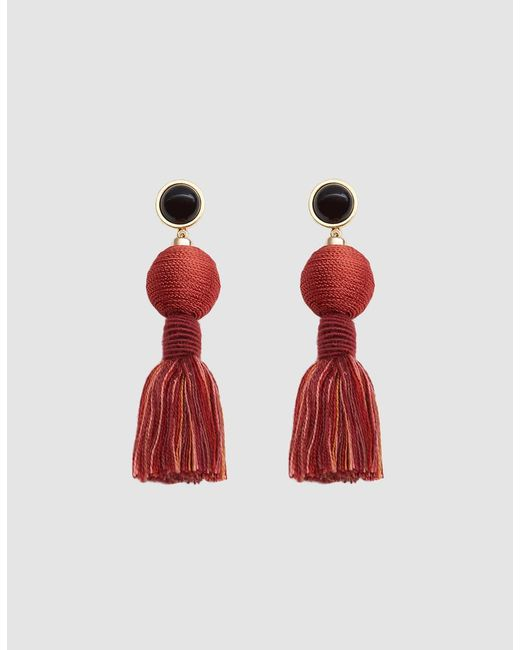 Lizzie Fortunato - Red Modern Craft Earrings - Lyst