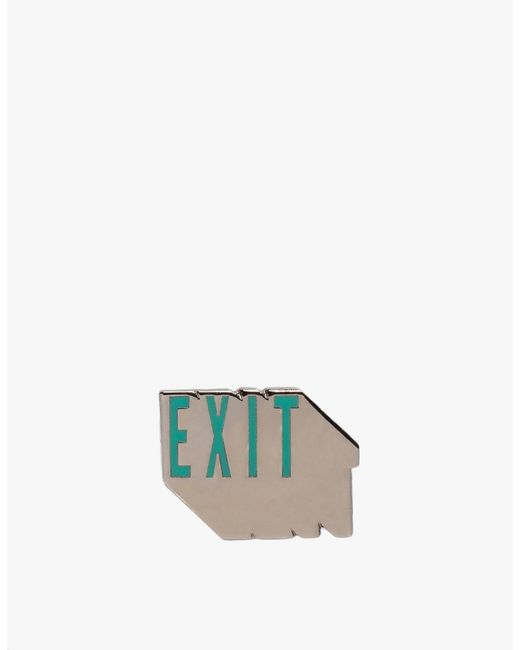 Prize Pins | Green Exit - Black | Lyst