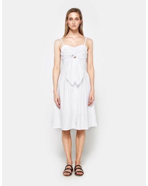 Farrow - White Maida Dress - Lyst