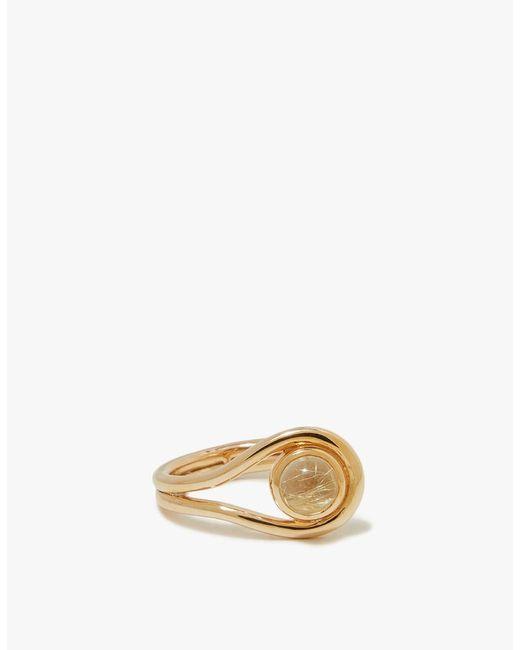 Pamela Love | Metallic Lasso Ring | Lyst