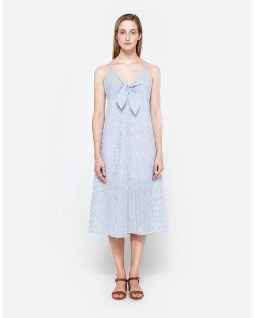 Farrow   Blue Ida Dress   Lyst