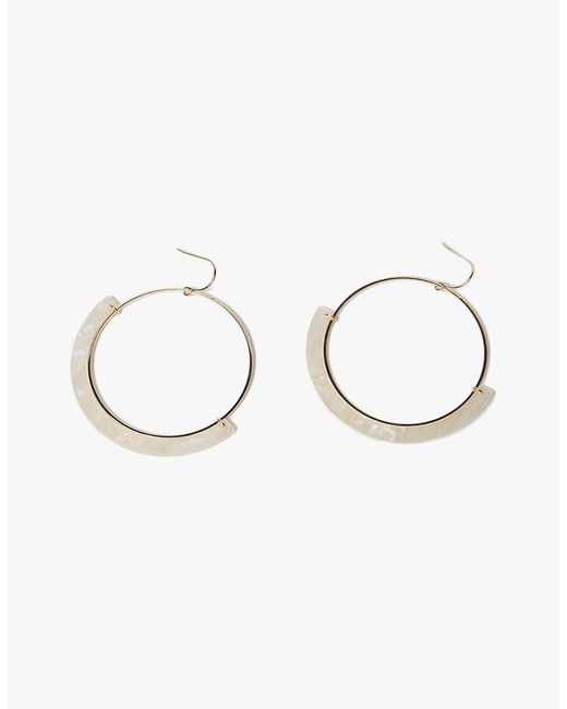 Need Supply Co. | Metallic Halo Earrings | Lyst