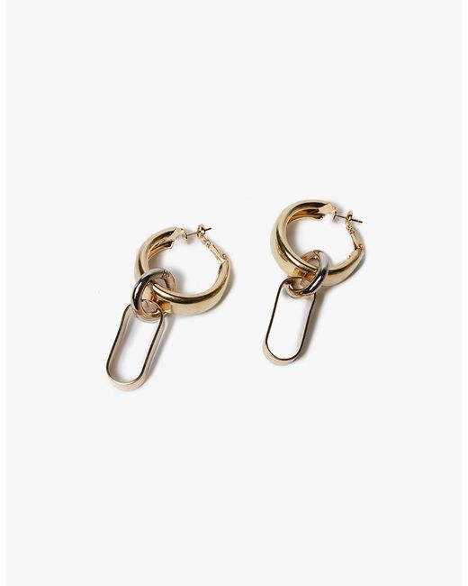 Need Supply Co. | Metallic Level Earrings | Lyst