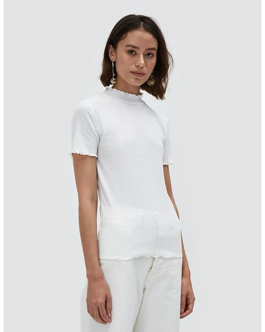 Which We Want | Gwen Tee In Off White | Lyst