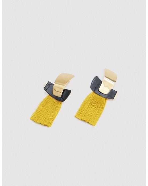 Lizzie Fortunato - Multicolor Totem Tassel Earrings - Lyst