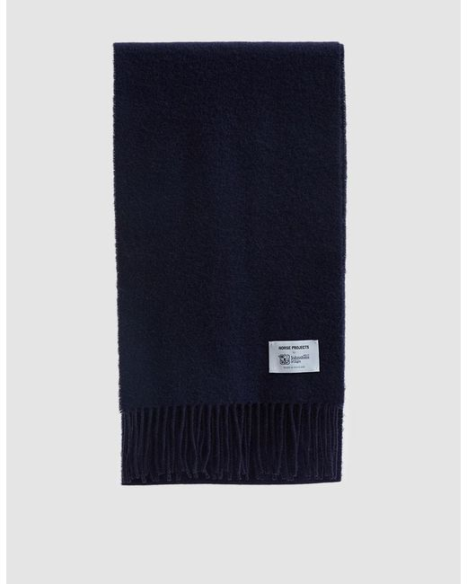 Norse Projects - Blue Norse X Johnstons Scarf for Men - Lyst