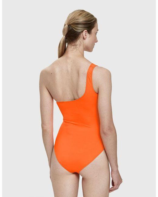 Sortie En Porcelaine Msgm one piece swimsuit with micro logo visite Wiki Vente Pas Cher Offre Magasin Rabais N42BaB6lYr