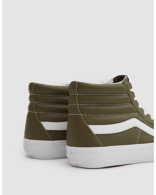 8c59cc22a5 ... Vans - Multicolor Italian Leather Sk8-hi Reissue Vlt Lx Shoe for Men -  Lyst ...