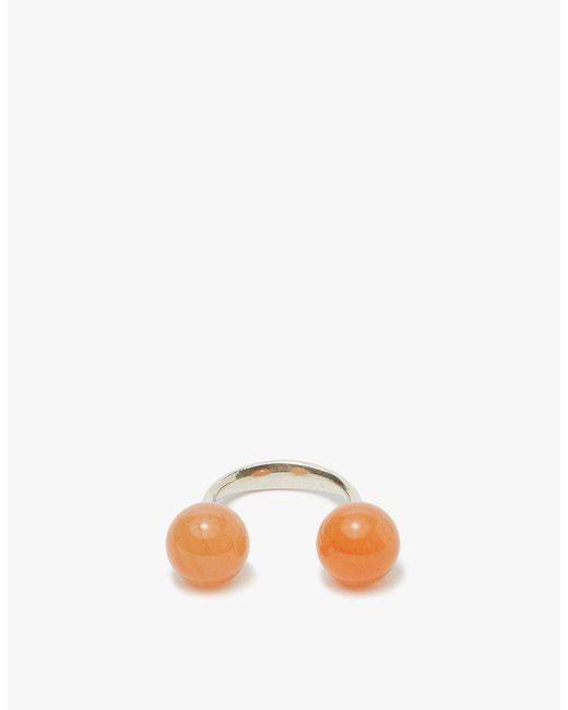 Saskia Diez - Multicolor Papaya Sling Ring - Lyst