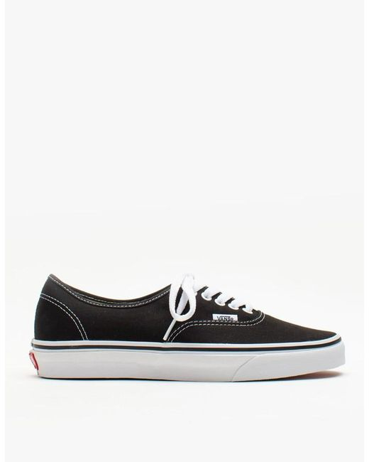Vans | Authentic In Black for Men | Lyst
