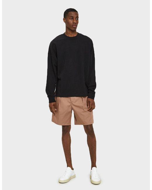 Lemaire - Multicolor Elasticated Shorts In Rosewood for Men - Lyst