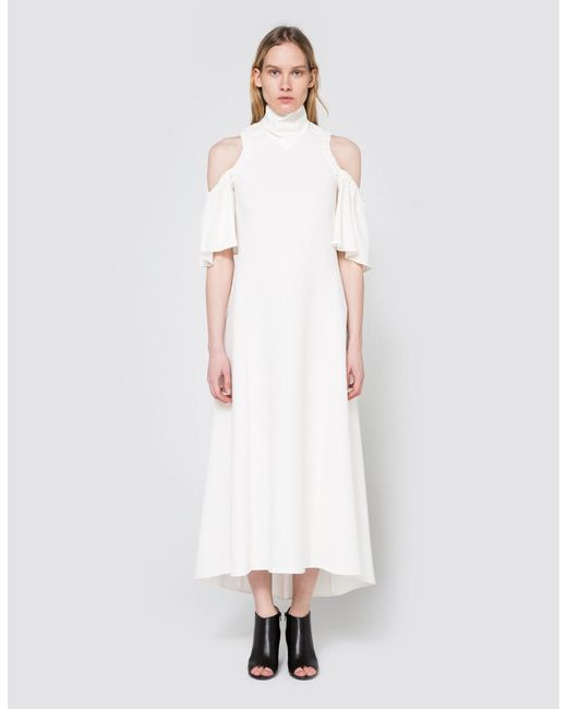 Ellery - White Deity Dress In Ivory - Lyst