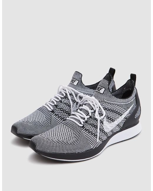 264a80917e286 spain grey running shoes 8666a 2d506  closeout nike white air zoom mariah  flyknit racer for men lyst 750a4 48781