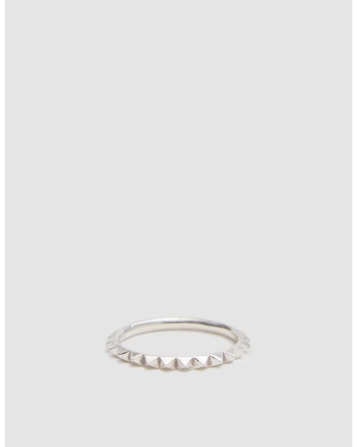 Saskia Diez - Metallic Pave Ring - Lyst