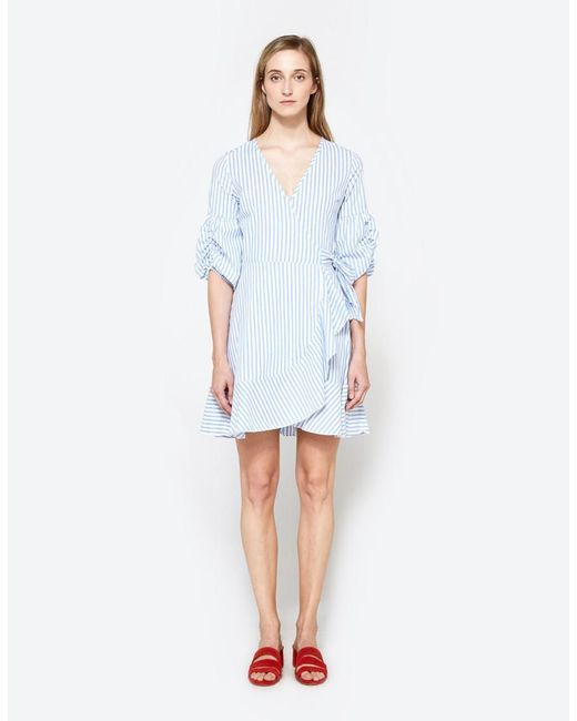 Farrow - Blue Agnes Dress - Lyst