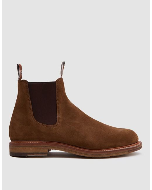 Lyst R M Williams Gilchrist Boot In Tobacco In Brown