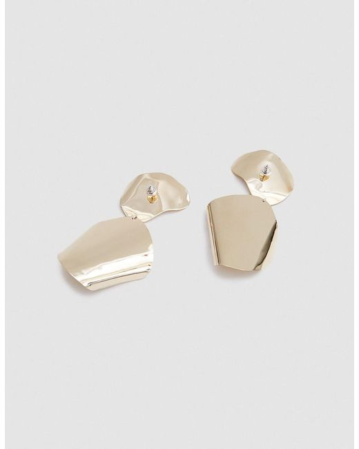 Silver Drape Earrings Faris ju46U