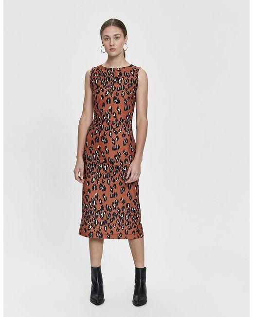 Rachel Comey - Brown Medina Leopard-print Dress - Lyst