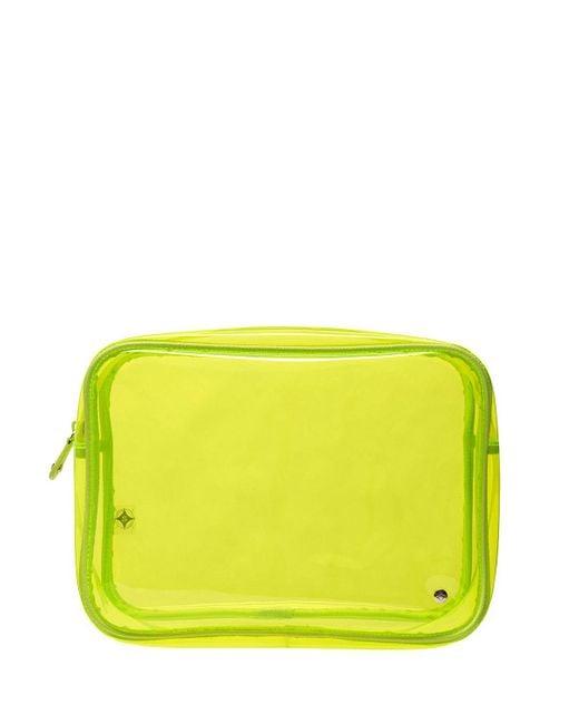 Stephanie Johnson - Yellow Jumbo Zip Cosmetics Bag - Lyst