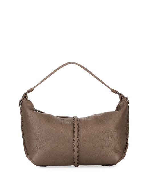 Bottega Veneta - Multicolor Cervo Medium Leather Shoulder Hobo Bag - Lyst