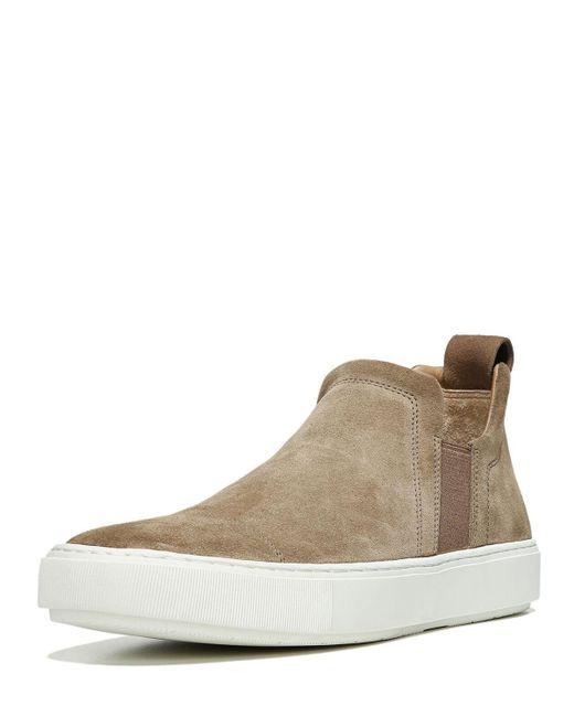 Vince - Gray Men's Lucio Sport Suede Slip-on Sneakers for Men - Lyst