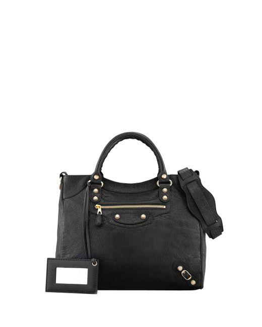 Balenciaga | Black Giant 12 Golden Velo Bag | Lyst