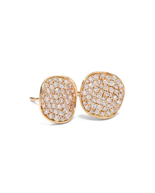 Ippolita   Metallic Stardust Diamond Stud Earrings   Lyst